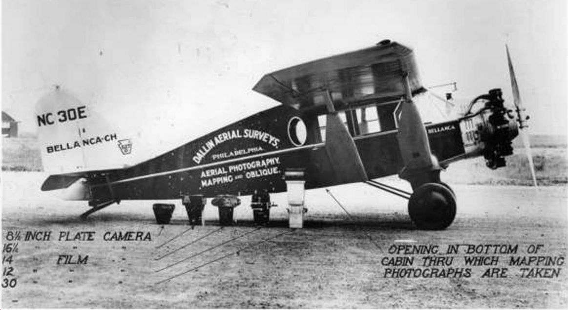 The Dallin Survey Company plane.