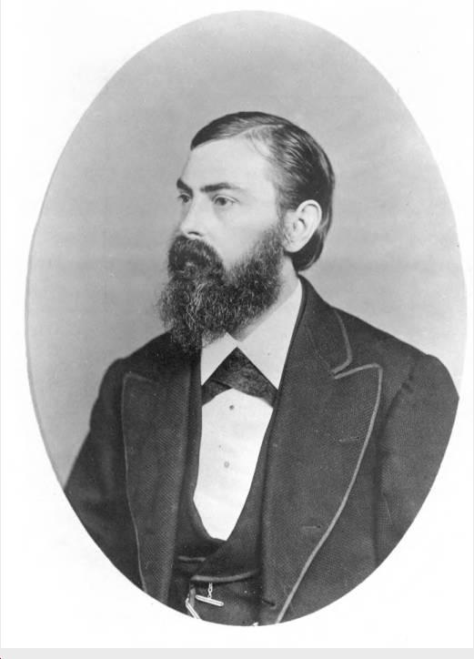 Photographer George Bretz in 1875.